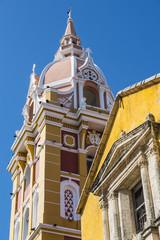 Exterior of Cartagena Cathedral, Cartagena, Bolivar, Colombia