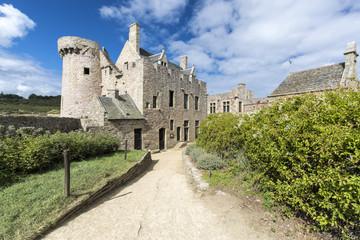 Fort la Latte on sunny summer day, Plevenon, Bretagne, France