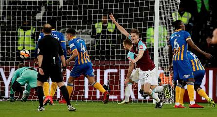 FA Cup Third Round Replay - West Ham United vs Shrewsbury Town