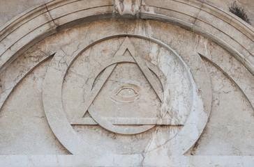 Masonic symbols in Venice
