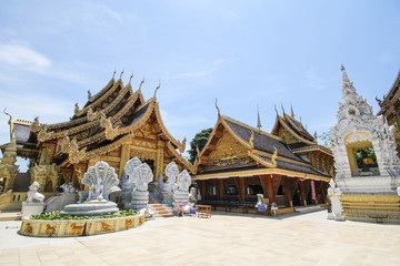 Wat Sanpa Yang Luang, Lamphun, Thailand