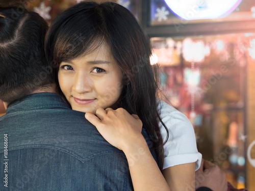 Asian hair side