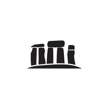 Stonehenge stones icon. Element of United Kingdom culture icons. Premium quality graphic design icon. Signs, outline symbols collection icon for websites, web design, mobile app