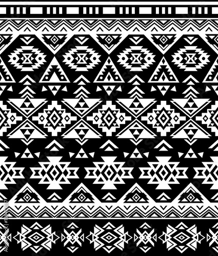 graphic about Native American Designs Printable titled Ethnic habit structure. Seamless habit. Navajo geometric