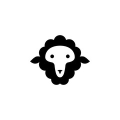 face of a ram icon. Element of farming and garden icons. Premium quality graphic design icon. Signs, outline symbols collection icon for websites, web design, mobile app