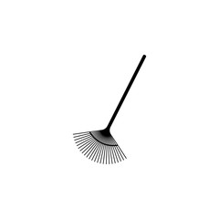 garden rake icon. Element of farming and garden icons. Premium quality graphic design icon. Signs, outline symbols collection icon for websites, web design, mobile app