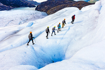 Patagonia Grey Glacier Ice Hiking 2017