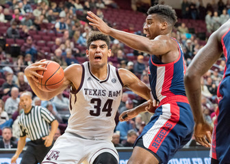 NCAA Basketball: Mississippi at Texas A&M