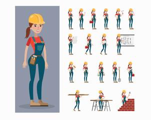 Builder character set.