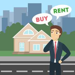 Buy or rent.