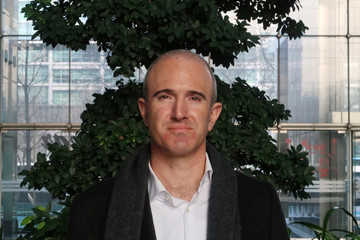 Matt Barnard, Chief Executive Officer of U.S.-based vertical farming start-up Plenty, poses for a picture in Beijing