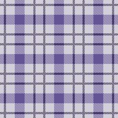 Ultra Violet Tartan Seamless Pattern