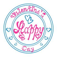 Stamp Valentines Day