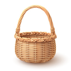 Rounded Basket separate in layer, Easy to use and in put artworks