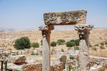 The remains of Susya city - largest Jewish city of ancient Judea