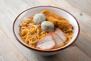 Curry Noodles Asian cuisine