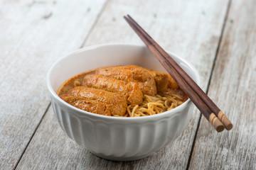 Asian food Curry Laksa Noodles