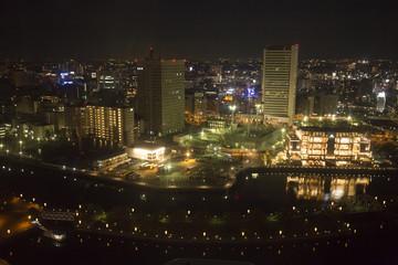 横浜みなとみらい21 夜景