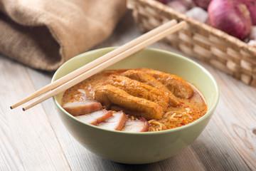 Curry Laksa Noodles Asian cuisine