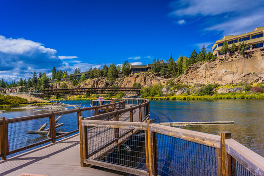 Deschutes River Overlook in Bend Oregon