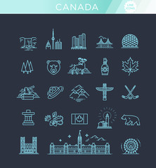travel Canada traditional objects