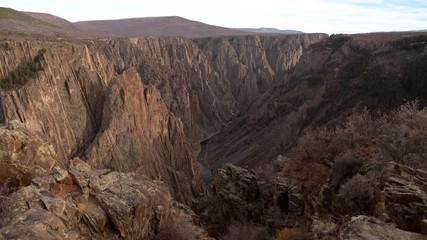 Wall Mural - Black Canyon of the Gunnison National Park. Colorado USA.