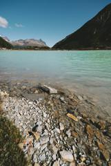 Emerald Lagoon, or Laguna Esmeralda,Ushuaia
