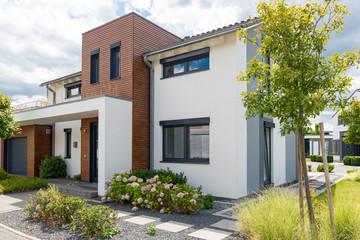 modernes Haus, Haus für die Familie