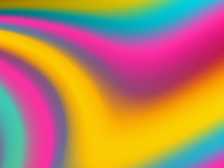 Colorful background with waves. Abstract vector illustration