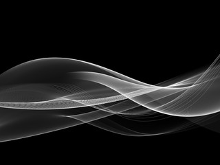 Black White Design Abstract