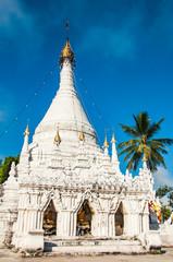 Wat Phra That Toi Kong Mu in Mae Hong Son, Thailand.