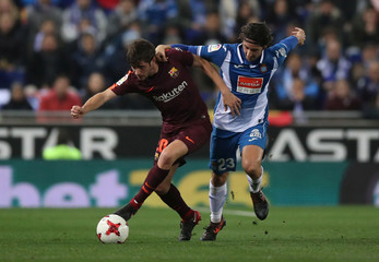 Spanish King's Cup - Espanyol vs FC Barcelona - Quarter-Final - First Leg