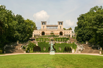 Sanssouci park and Orangerie