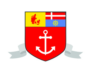 denmark anchor hook harbor navy marine icon symbol