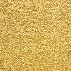 Golden wall for background or texture