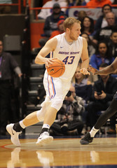 NCAA Basketball: Utah State at Boise State