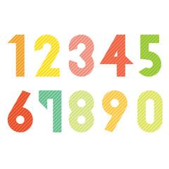 stripe number