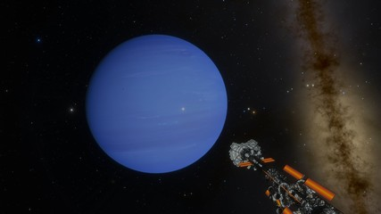 Spaceship Mission to Neptune