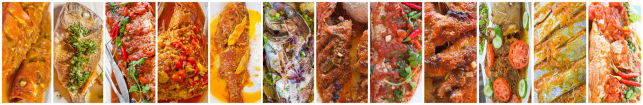 poissons créoles à toutes les sauces