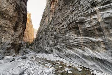 Samaria gorge national park, Crete island - Greece