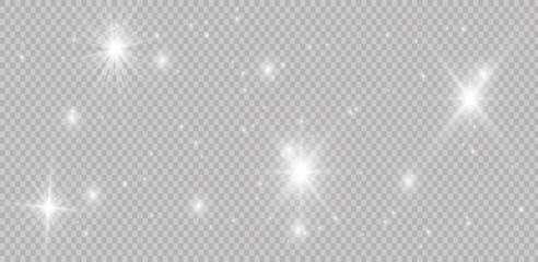 Vector sparkling falling star. Stardust trail. Glow light effect. Vector illustration. Christmas flash Concept.