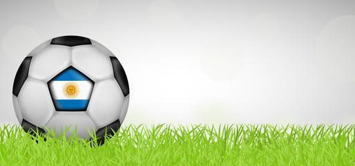 Fußballwiese - Fußball Argentinien