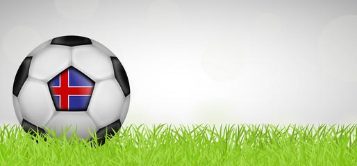 Fußballwiese - Fußball Island