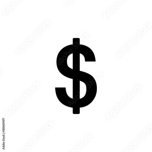 Us Dollar Sign Element Of Money Symbol Icon Premium Quality