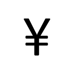 Chinese yen sign icon. Element of money symbol icon. Premium quality graphic design icon. Baby Signs, outline symbols collection icon for websites, web design, mobile app