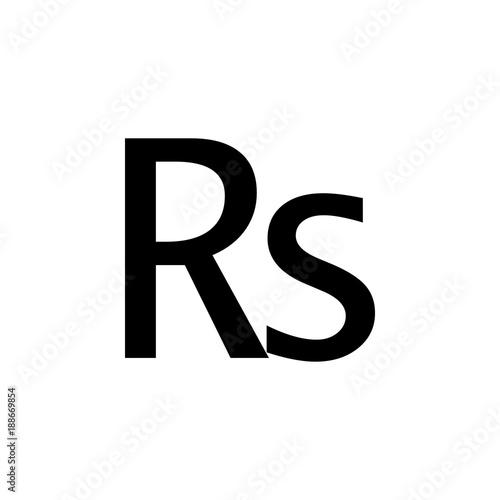 Indian Rupee Sign Icon Element Of Money Symbol Icon Premium
