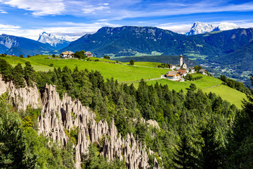 Earth pyramids of Ritten in South Tyrol