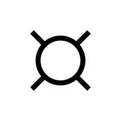 Generic currency symbol. Element of money symbol icon. Premium quality graphic design icon. Baby Signs, outline symbols collection icon for websites, web design, mobile app
