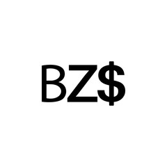 sign Belize Dollar icon. Element of money symbol icon. Premium quality graphic design icon. Baby Signs, outline symbols collection icon for websites, web design, mobile app