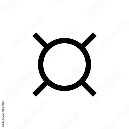 Generic Currency Symbol Element Of Money Symbol Icon Premium